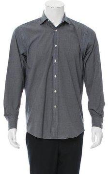Ralph Lauren Black Label Check Print Button-Up Shirt