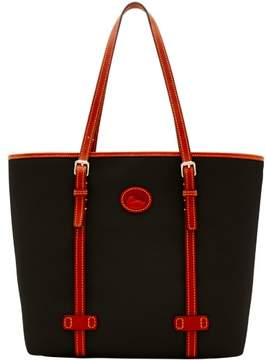 Dooney & Bourke Nylon East West Shopper Tote - BLACK - STYLE