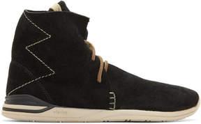 Visvim Black Huron Moc Hi-Folk Boots