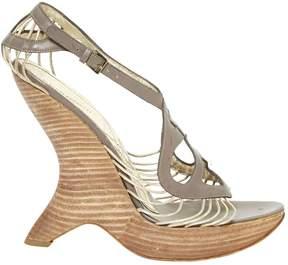 Alberta Ferretti Leather heels