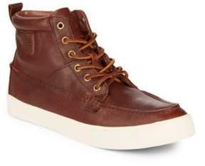 Polo Ralph Lauren Tavis Leather Sneakers
