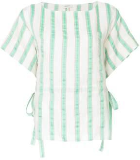 DELPOZO short sleeved round neck blouse