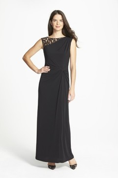 Ellen Tracy Women's Column Gown