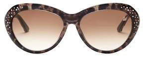 Swarovski Women's Leopard Cat Eye Sunglasses