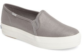 Keds Women's Triple Decker Slip-On Platform Sneaker