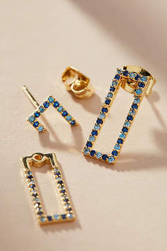Anthropologie Alethea Front-Back Earrings