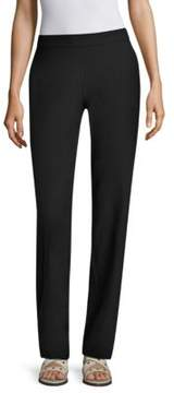 Eileen Fisher Stretch Crepe Straight Pants