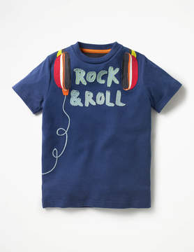 Boden Rock Star Applique T-shirt