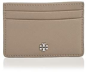Tory Burch Robinson Slim Card Case - FRENCH GRAY/SILVER - STYLE