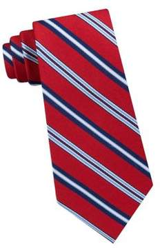 Lord & Taylor The Mens Shop Simon Striped Silk Tie