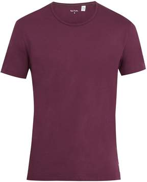 Paul Smith Logo-patch cotton-jersey T-shirt