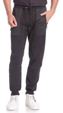 Madison Supply Ribbed Cotton-Blend Sweatpants
