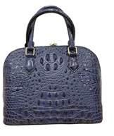 Tiffany & Co. & Fred Alligator Embossed Leather Satchel.