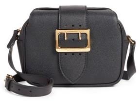 Burberry Small Buckle Leather Crossbody Bag - Black - BLACK - STYLE
