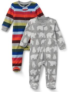 Gap Polar bear footed one-piece