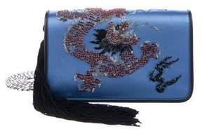Les Petits Joueurs 2018 Embellished Satin Bag