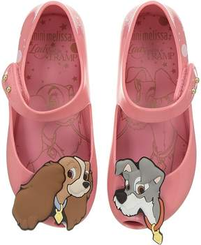 Mini Melissa Mini Ultragirl + Lady and The Tramp Girl's Shoes