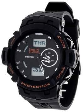 Everlast Analog and Digital Multi Function Watch - Black