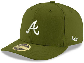 New Era Atlanta Braves Low Profile C-dub 59FIFTY Fitted Cap