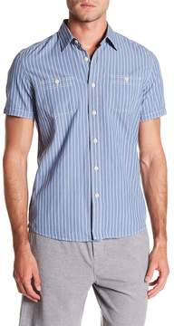Grayers Larkin End on End Short Sleeve Slub Shirt