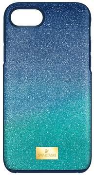Swarovski High Ombre Smartphone Case with Bumper, iPhone 8 Plus, Green