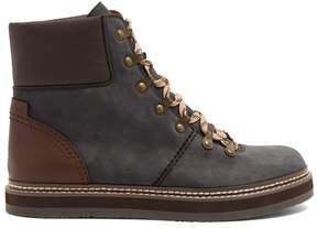See by Chloe Leather and suede ankle boots