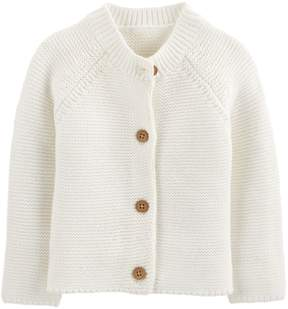 Osh Kosh Oshkosh Bgosh Baby Girl Textured Cardigan Sweater