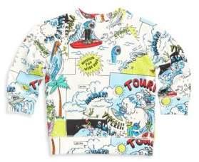Stella McCartney Baby's Billy Cartoon-Print Cotton Sweatshirt