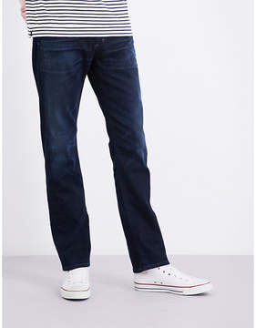 Citizens of Humanity Gage straight mid-rise stretch-denim jeans