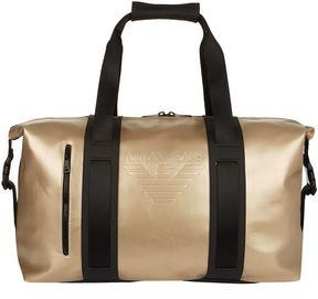 Armani Jeans Embossed Logo Weekend Bag
