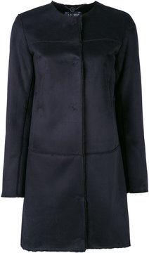 Armani Jeans single-breased coat