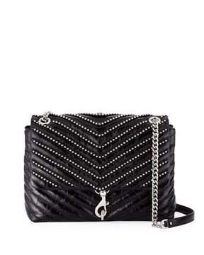 Rebecca Minkoff Edie Flap Leather Shoulder Bag