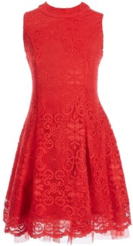 My Michelle Big Girls 7-16 Sleeveless Lace Dress