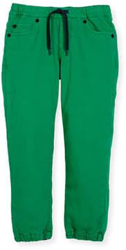 Kenzo Drawstring-Waist Jeans, Size 8-12