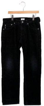 Armani Junior Boys' Corduroy Straight-Leg Pants
