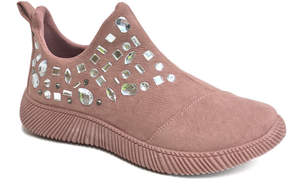Bamboo Mauve Forward Slip-On Mid-Rise Sneaker