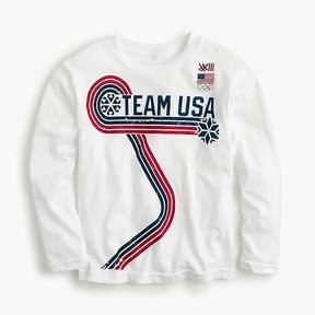 J.Crew Kids' long-sleeve Team USA T-shirt