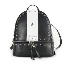 MICHAEL Michael Kors Rhea Medium Stars Studded Backpack Black/white - BLACK - STYLE