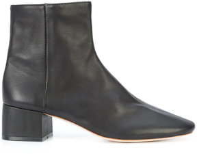 Loeffler Randall round toe ankle boots
