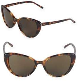 Linda Farrow 54MM Cat-Eye Sunglasses