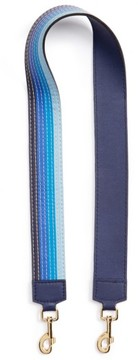 Loewe Degrade Stitches Guitar Strap - Blue