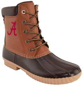 NCAA Men's Alabama Crimson Tide Duck Boots