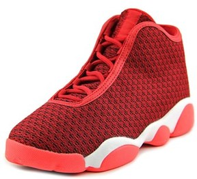 Jordan Horizon Youth Round Toe Synthetic Red Basketball Shoe.