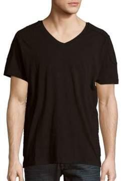 Pierre Balmain Solid V-Neck T-Shirt