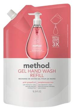 Method Products Gel Hand Soap Refill Pink Grapefruit - 34oz
