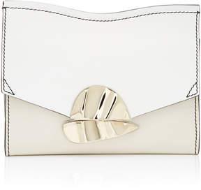 Proenza Schouler Small Curl Chain Leather Clutch