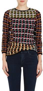 Marni Women's Abstract Jacquard Cotton-Blend Sweater