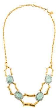 Alexis Bittar Amazonite Doublet & Crystal Maldivian Necklace