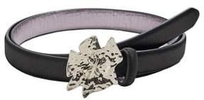 MANGO Flower buckle belt