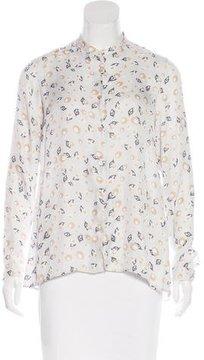 Bagutta Printed Long Sleeve Top w/ Tags